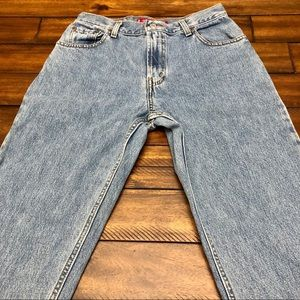 Vintage Levi's 550 Mom Jeans 28W